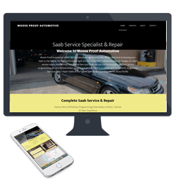Moose Proof Automotive new website and mobile friendly
