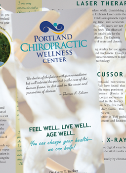 Portland Chiropractic Wellness Center Brochure